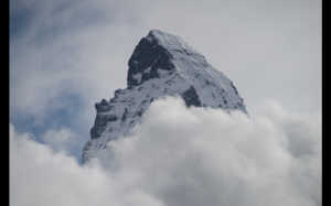 The Matterhorn summit
